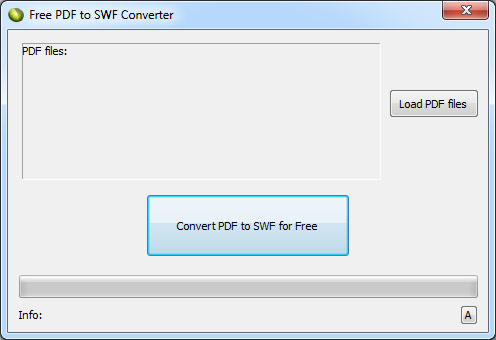 Click to view LotApps Free PDF to SWF Converter 1.0 screenshot